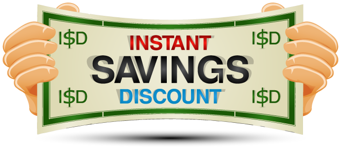 Instant Savings Discount or ISD